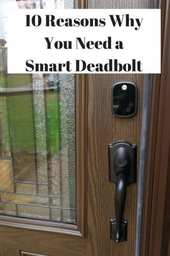 10 Reasons Why You Need a Smart Touchscreen Deadbolt