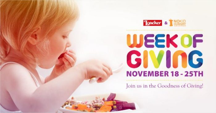 Join Loacker's Week of Giving (November 18-21) and Enter to Win Some Tasty Treats!