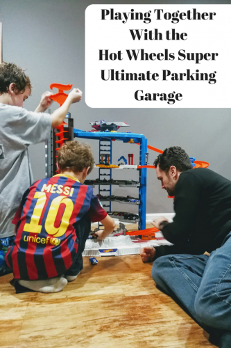 Playing Together With the Hot Wheels Super Ultimate Parking Garage #WalmartHotWheels