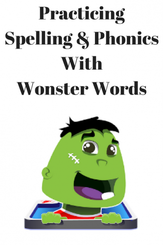 Practicing Spelling & Phonics With Wonster Words