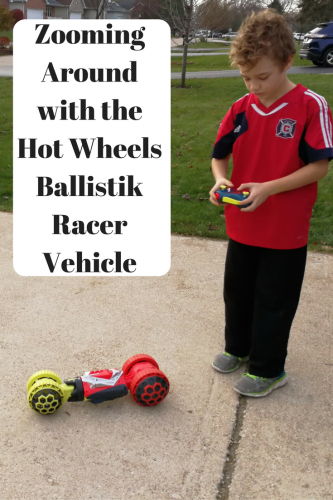 Zooming Around With the Hot Wheels Ballistik Racer Vehicle #WalmartHotWheels