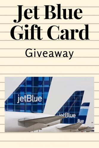 Jet Blue Giveaway (Ends 4/3)