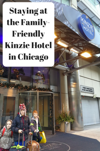 Staying at the Family-Friendly Kinzie Hotel #ChicagoStartsHere