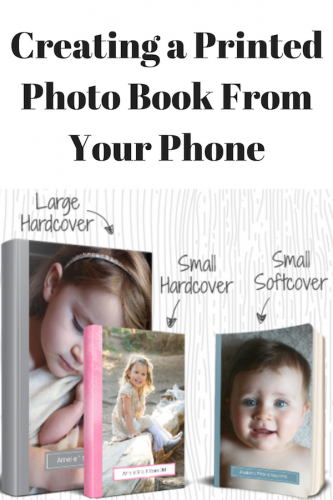 Creating a Printed Photo Book From Your Phone (& Giveaway Ends 12/1)