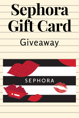 Sephora Giveaway (Ends 12/19)