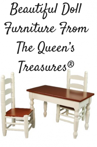 Beautiful Doll Furniture From The Queen's Treasures®