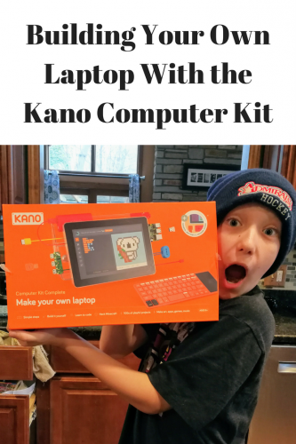 Building Your Own Laptop With the Kano Computer Kit