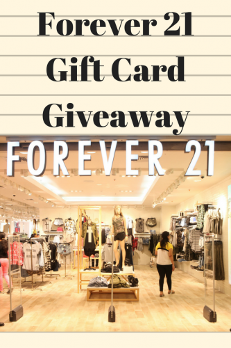 Forever 21 Gift Card Giveaway