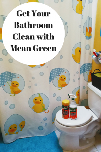 Get Your Bathroom Clean With Mean Green