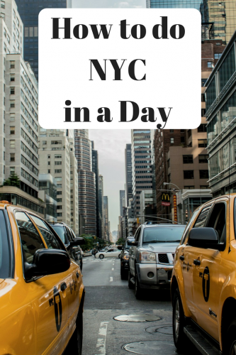How To Do NYC in a Day