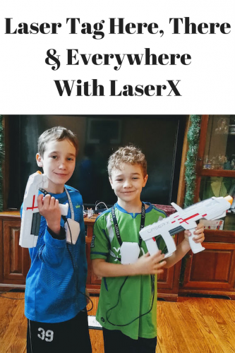 Laser Tag Here, There & Everywhere With LaserX