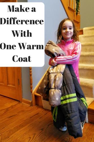 Make a Difference With One Warm Coat #warmamillion #sharethewarmth #onewarmcoat