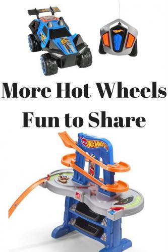 More Hot Wheels Fun to Share #givethegiftoffun #walmart