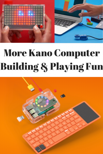 More Kano Computer Building & Playing Fun