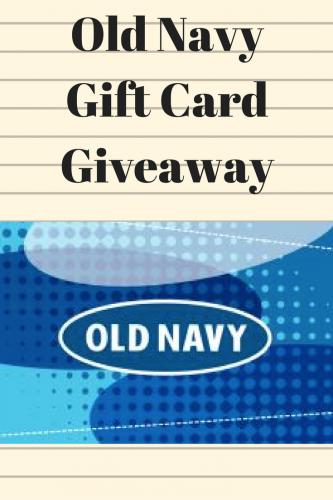 Old Navy Giveaway