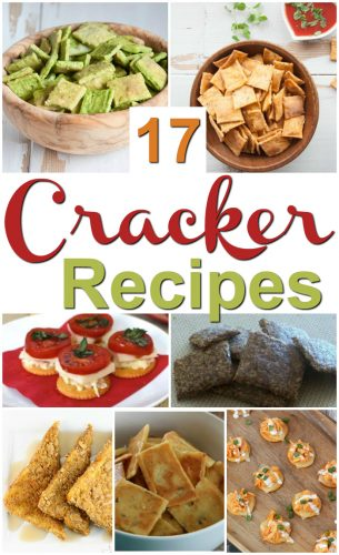 17 Cracker Recipes