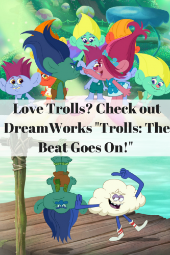 "DreamWorks ""Trolls: The Beat Goes On!"" Show @Netflix #StreamTeam"