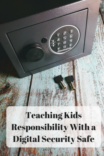 Teaching Kids Responsibility With a Digital Security Safe