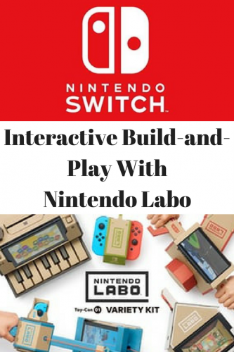 Interactive Build-and-Play With Nintendo Labo