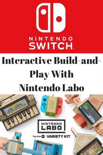 Nintendo Labo is Now Available #NintendoLabo