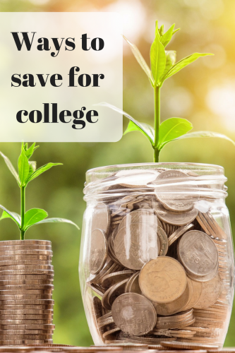 Starting the New Year – Ways to Save for College #takesimplesteps