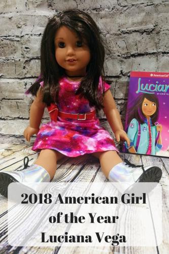 2018 American Girl of the Year Luciana Vega