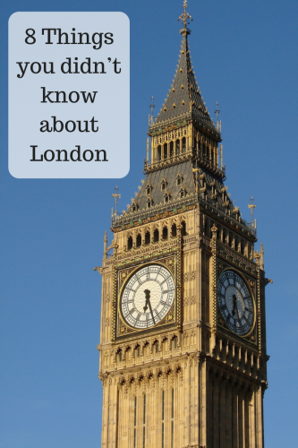 8 Things you didn't know about London