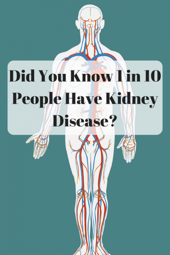 Did You Know 1 in 10 People Have Kidney Disease?