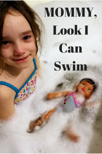 MOMMY, Look I Can Swim Doll
