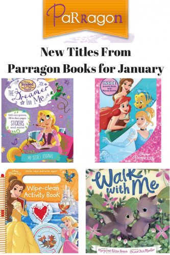 Disney Princesses & More @ParragonBooks