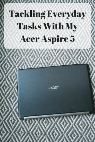 Tackling Everyday Tasks With My Acer Aspire 5