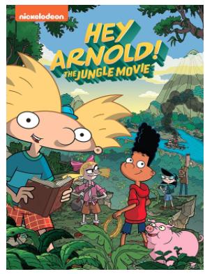"DVD ""Hey Arnold! The Jungle Movie"""