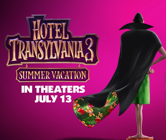 """Hotel Transylvania 3: Summer Vacation"" – Movie Trailer #HotelT3"