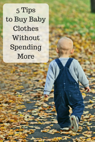 5 Tips To Buy Baby Clothes Without Spending More