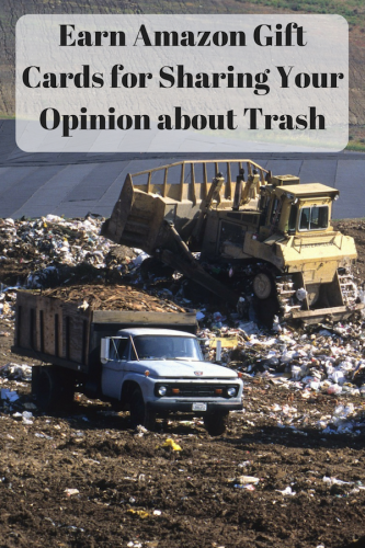 Earn Amazon Gift Cards For Sharing Your Opinion About Trash