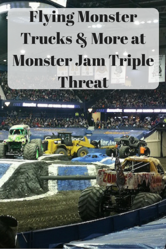 Flying Monster Trucks & More at Monster Jam Triple Threat