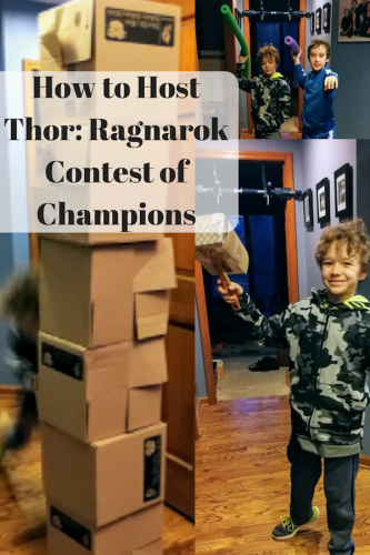 How to Host Thor: Ragnarok Contest of Champions #ThorRagnarok #ThorBackyardGames #ContestOfChampions