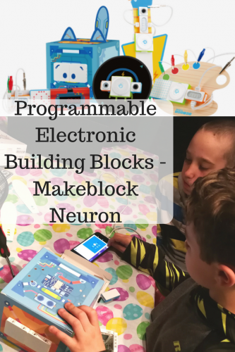 Programmable Electronic Building Blocks – Makeblock Neuron