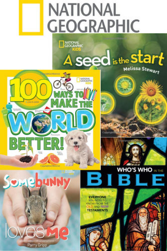 Celebrate Spring With National Geographic Kids Books