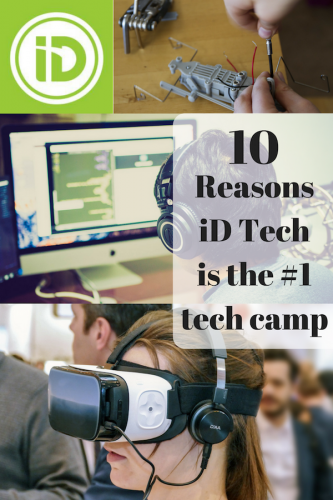 10 Reasons iD Tech is the #1 tech camp