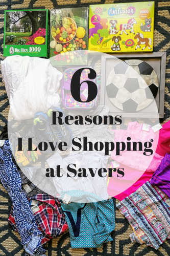 6 Reasons I Love Shopping at Savers