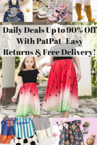 Shop Daily Deals Up to 90% Off With PatPat- Easy Returns & Free Delivery!