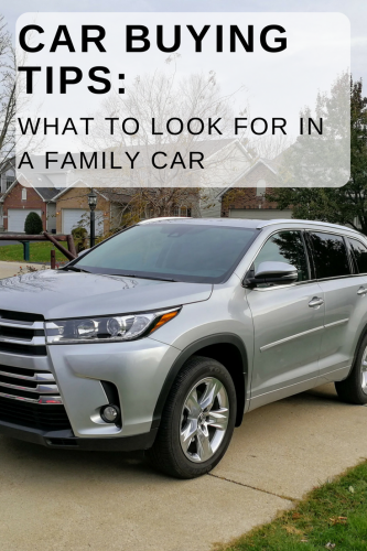 Car Buying Tips: What to Look for in a Family Car
