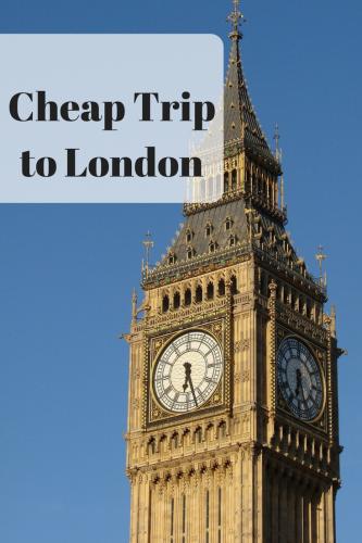 Cheap Trip to London