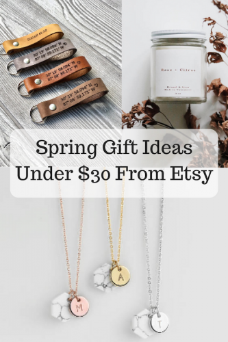 Spring Gift Ideas Under $30 From Etsy