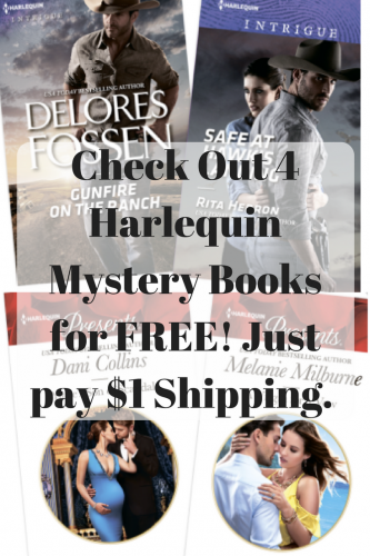 Try Out the Harlequin Mystery Book Club program for $1