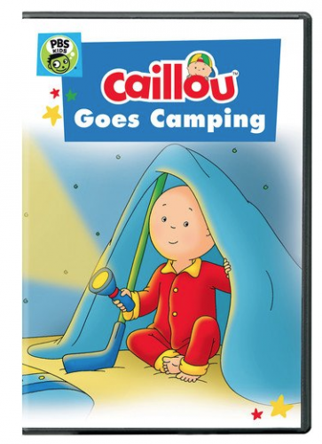 """DVD """"Caillou: Caillou Goes Camping"""""""