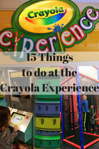 15 Things to do at the Crayola Experience