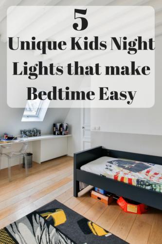 5 Unique Kids Night Lights that make Bedtime Easy