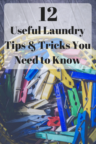 12 Useful Laundry Tips And Tricks You Need to Know